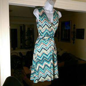 Leota ladies dress with sash